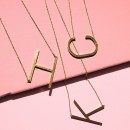 Ellison + Young: Monogram Collection Initial Necklace 1