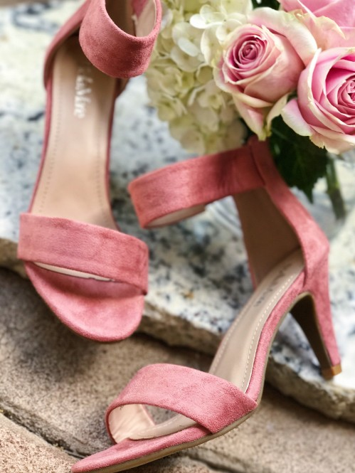 Casual Strut Heel in Mauve 1