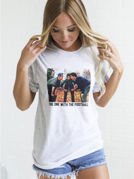 Friends Tee, The One With The Football