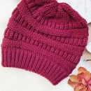Let's Chill Beanie, Burgundy