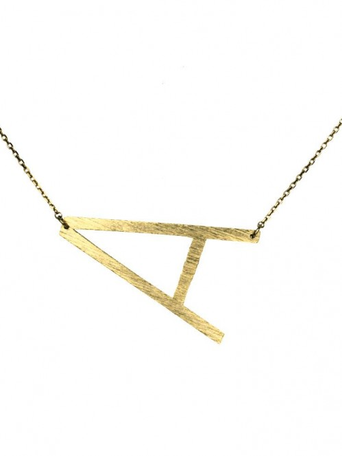 Ellison + Young: Monogram Collection Initial Necklace 5