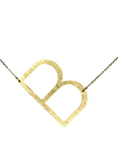 Ellison + Young: Monogram Collection Initial Necklace 6