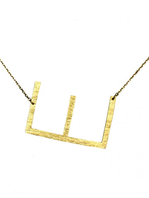 Ellison + Young: Monogram Collection Initial Necklace 7