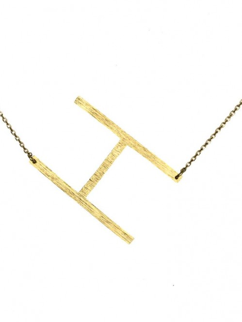 Ellison + Young: Monogram Collection Initial Necklace 8