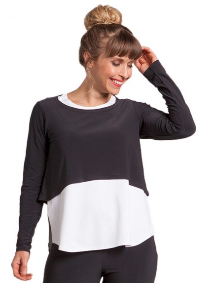 sympli-22104-3-shorty-top-long-sleeve