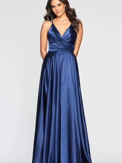 faviana-s10429-v-neck-pleated-bodice-lace-up-back-satin-gown-prom